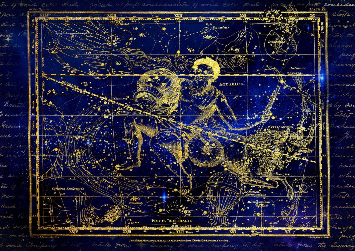 Fixsternkonstellation Wassermann
