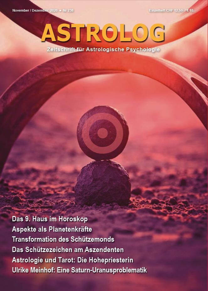Das Foto Zeigt Die Titelseite Der Zeitschrift ASTROLOG Für Dez. Jan.